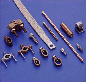 Bronze Copper Brass Grounding Clamps Grounding Connectors